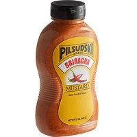 Pilsudski 12 oz. Sriracha Mustard Squeeze Bottle   - 12/Case