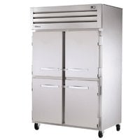 True STR2F-4HS Specification Series Two Section Reach In Freezer with Solid Half Doors - 56 Cu. Ft.