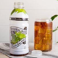 Herbal Mist 20 oz. Unsweetened Iced Tea with Yerba Mate   - 12/Case