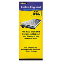 Fellowes 99680 Polyurethane Custom Order Keyboard Protection Kit