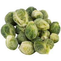 2 lb. Bag IQF Baby Brussels Sprouts - 12/Case
