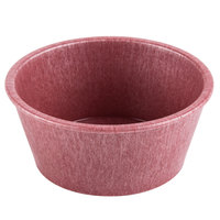 HS Inc. HS1013 4 oz. Raspberry Polyethylene Ramekin - 48/Case