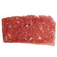 Levan Bros. 53-Count Case of 3 oz. Portions Lightly Seasoned Beef Steak Sandwich Slices - 10 lb.
