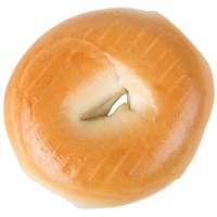 Original Bagel 4.5 oz. New York Style Plain Bagel   - 75/Case