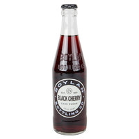 Boylan Bottling Co. 12 oz. Black Cherry Soda 4-Pack - 6/Case