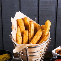 Violetta 5 lb. Battered Eggplant Fries - 2/Case