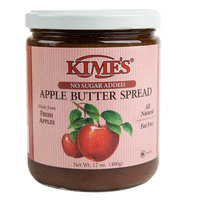 Kime's 17 oz. No Sugar Added Apple Butter Spread   - 12/Case
