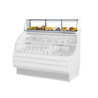 Turbo Air TOMD-75-L 75 inch Top Dry Display Case - White