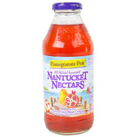 Nantucket Nectars 16 oz. Pomegranate Pear Juice - 12/Case