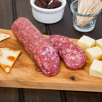 Colameco's Primo Naturale 7 oz. Original Uncured Salami Chub   - 12/Case