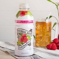 Herbal Mist 20 oz. Sweetened Raspberry Iced Tea with Yerba Mate - 12/Case
