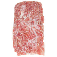 Levan Bros. 22-Count Case of 7 oz. Portions Classic Cut Seasoned Beef Steak Sandwich Slices - 10 lb.