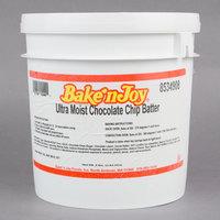Bake'n Joy Ultra Moist 8 lb. Scoop and Bake Chocolate Chip Batter - 2/Case
