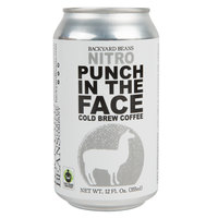 Backyard Beans 12 fl. oz. Nitro Punch in the Face Cold Brew Coffee - 12/Case