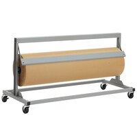 Bulman R66-24 24 inch Jumbo Mover Paper Cutter with Straight Edge Blade