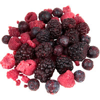 Cornerstone 5 lb. IQF Frozen Mixed Berries - 2/Case