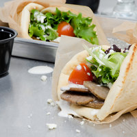 Kronos 5 lb. Pack Beef / Lamb Fully Cooked Traditional Gyros Slices - 4/Case