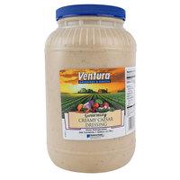 Ventura Gourmay 1 Gallon Creamy Caesar Dressing - 4/Case