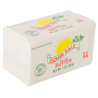 1 Lb. Salted Grade AA Butter Solid - 36/Case