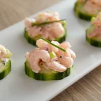 Sea Snack 5 lb. Bag of IQF Peeled Cooked Salad Shrimp - 2/Case