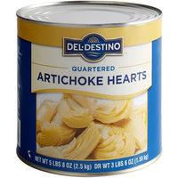 Quartered Artichoke Hearts - #10 Can - 6/Case