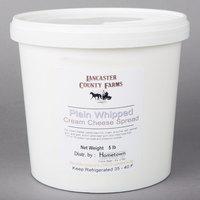 Lancaster County Farms 5 lb. Plain Whipped Cream Cheese Spread
