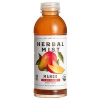 Herbal Mist 16.9 oz. All Natural Organic Mango Iced Tea with Yerba Mate   - 12/Case