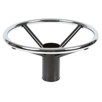 Lancaster Table & Seating Chrome Foot Ring for Bar Height Metal Table Base - 19 inch Diameter