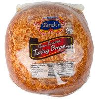 Kunzler 8.5 lb. Oven Roasted Deli Turkey Breast - 2/Case