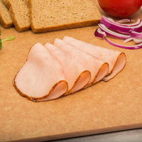 Kunzler 8.5 lb. Oven Roasted Deli Turkey Breast - 2/Case