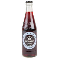 Boylan Bottling Co. 12 oz. Diet Black Cherry Soda - 24/Case