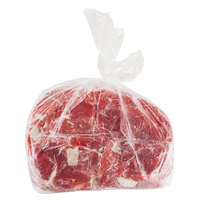 Korte 10 lb. Bulk Chipped Beef Steak - 2/Case