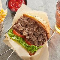 Korte 10 lb. Bulk Chipped Beef Steak - 2/Case