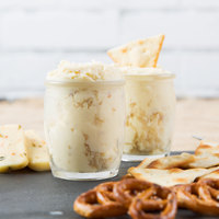 Old Fashioned Cheese 10 lb. Tub Swiss Almond Cheese Spread