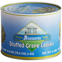 4.4 lb. Stuffed Grape Leaves - 6/Case