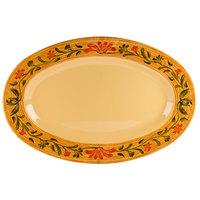 GET OP-120-VN Venetian 12 inch x 9 inch Oval Platter - 12/Case