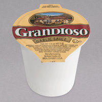 Grandioso by Ventura Foods 1.5 oz. Garlic Sauce Dipping Cup - 96/Case