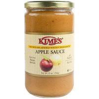 Kime's 25 oz. No Sugar Added Cinnamon Applesauce - 12/Case