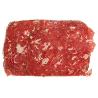 Levan Bros. 32-Count Case of 5 oz. Portions 100% Beef Steak Sandwich Slices - 10 lb.