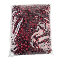 IQF Frozen Cranberries 5 lb. Bag - 2/Case