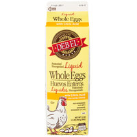 1 Qt. Fresh Liquid Whole Eggs   - 15/Case