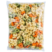 Seviroli Pre-Cooked Tricolor Cheese Tortellini Pasta 10 lb. Bag