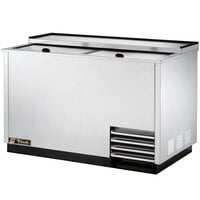True T-50-GC-S 50 inch Stainless Steel Glass Froster and Plate Chiller