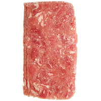 Levan Bros. 40-Count Case of 4 oz. Tender Cut Beef Steak Sandwich Slices - 10 lb.