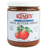 Kime's 17 oz. Sweetened Cinnamon Apple Butter Spread - 12/Case