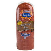 Kunzler 11.5 lb. Buffet Style Ham   - 2/Case