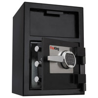FireKing SB2414BLEL 24 inch x 13 7/16 inch x 10 13/16 inch Black Depository Security Safe