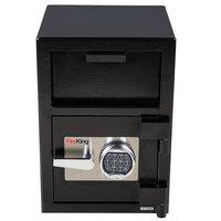 FireKing SB2014BLEL 14 inch x 15 1/2 inch x 20 inch Black Depository Security Safe