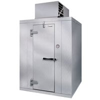 Kolpak P6-128-CT Polar Pak 12' x 8' x 6' Indoor Walk-In Cooler with Top Mounted Refrigeration