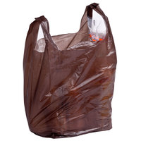 1/6 Size Brown T-Shirt Bag - 1000/Case